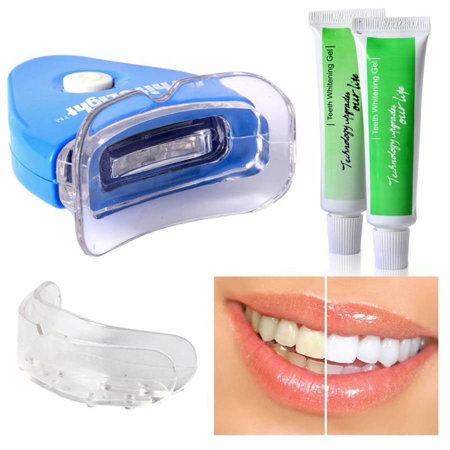 Гели для отбеливания зубов