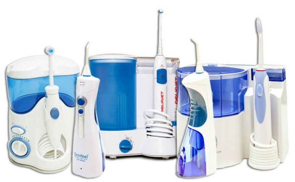 Как чистить зубы ирригатором