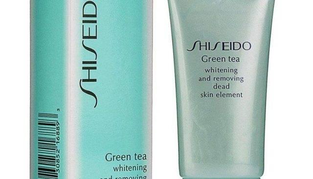 Пилинг для лица shiseido green tea (шисейдо «зеленый чай»): мягкое и деликатное очищение