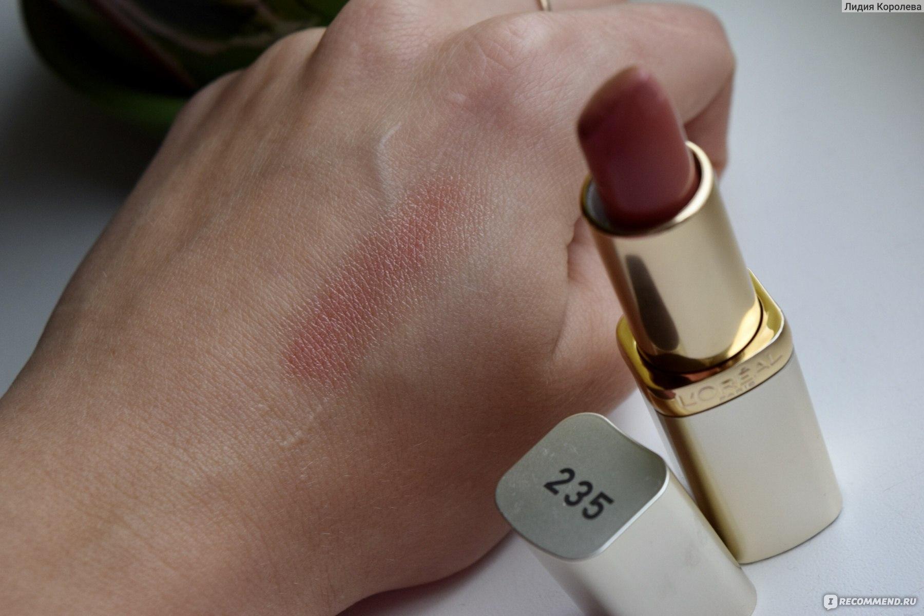 Матовая помада лореаль колор риш (loreal color riche) – палитра оттенков для губ и отзывы