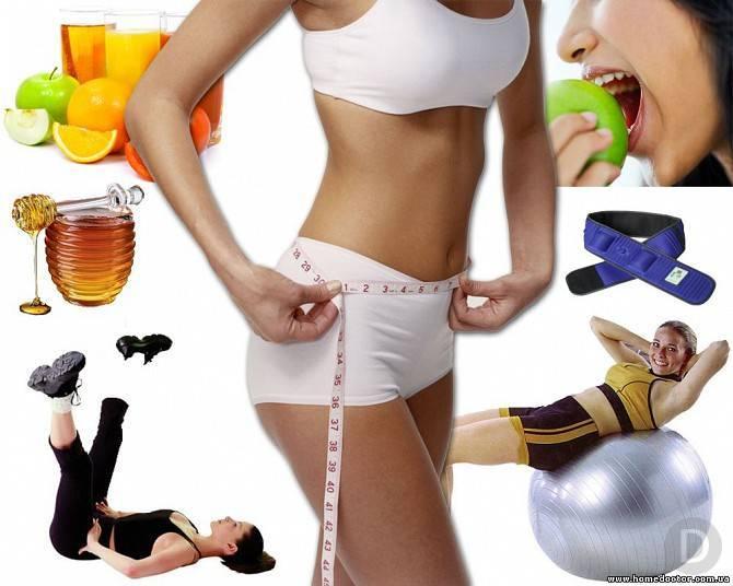 Медицинский подход к питанию и диете для похудения в животе и боках у женщин