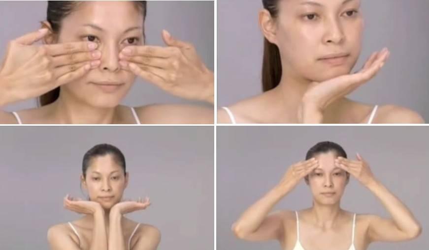 Упражнения для молодости верхних и нижних век и кожи вокруг глаз