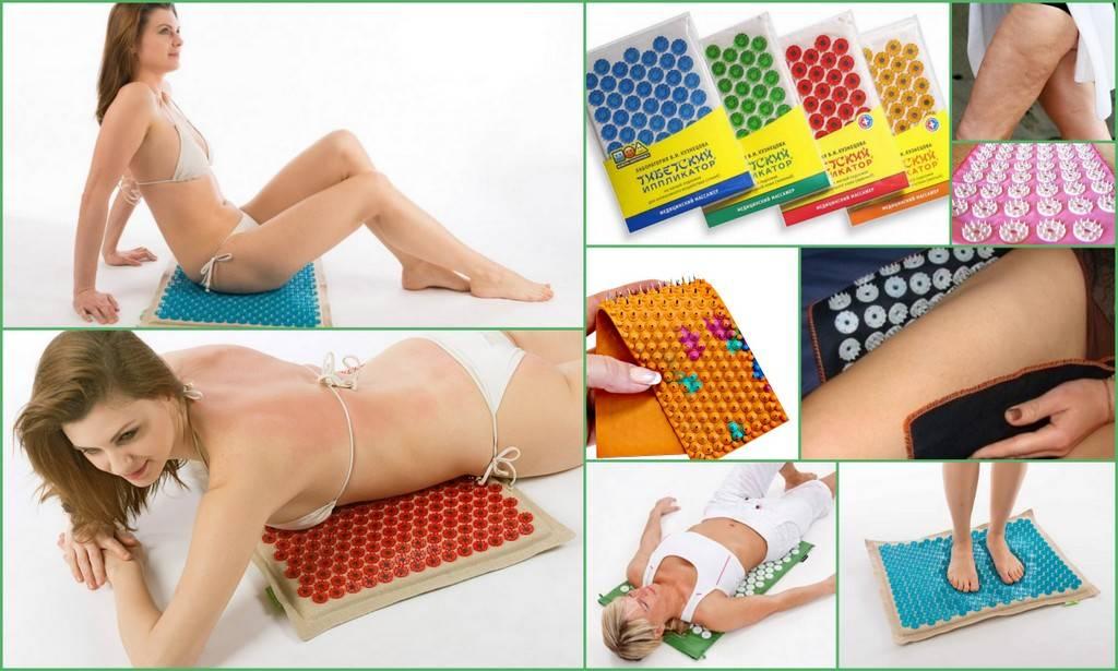 Аппликатор кузнецова для похудения: эффективность применения игольчатого коврика