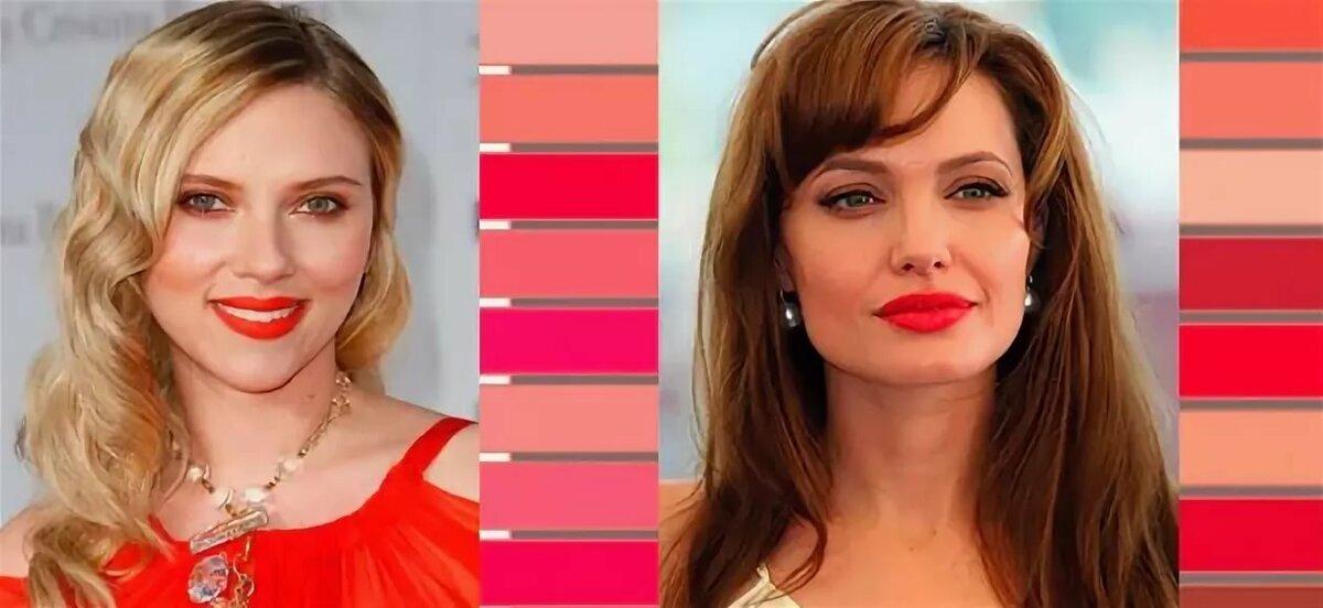 Как подобрать помаду для губ по цвету кожи и глаз