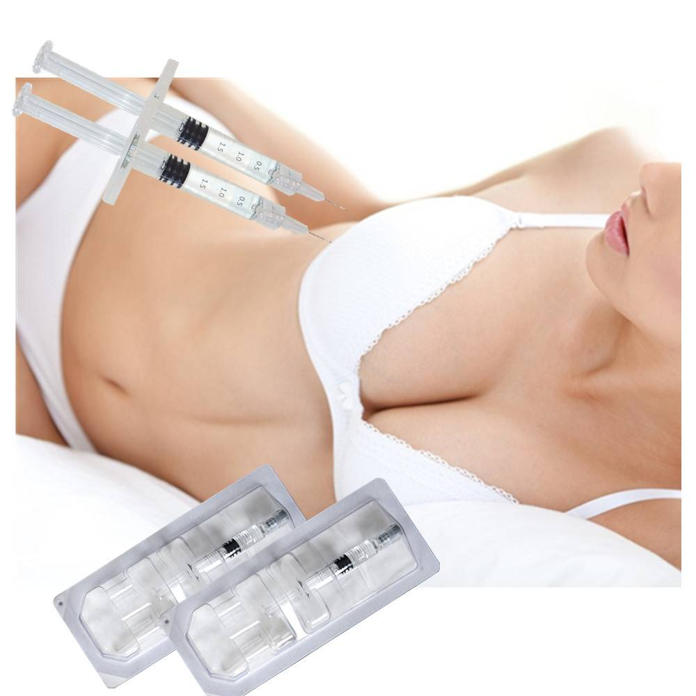 Методика увеличения груди гиалуроновой кислотой и все преимущества и недостатки процедуры