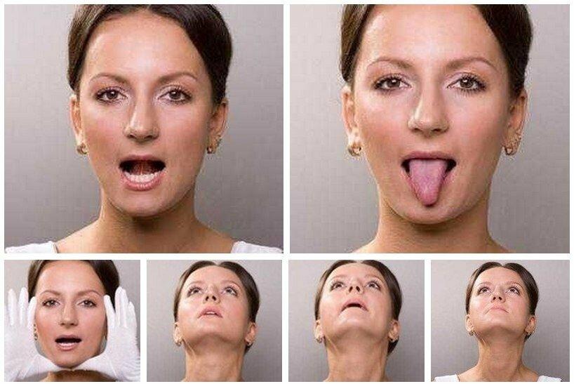Что делать с обвисшими щеками. методы устранения обвисших щек: маски, массаж и упражнения для лица от брылей