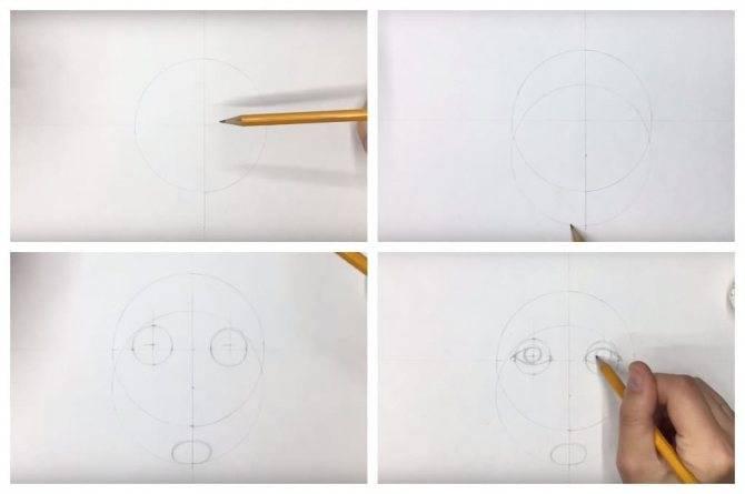 Как нарисовать пропорции лица человека поэтапно. пропорции лица человека при рисовании портрета: схема