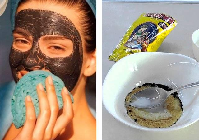 Самые лучшие маски-пленки от черных точек в домашних условиях: как сделать, правила нанесения