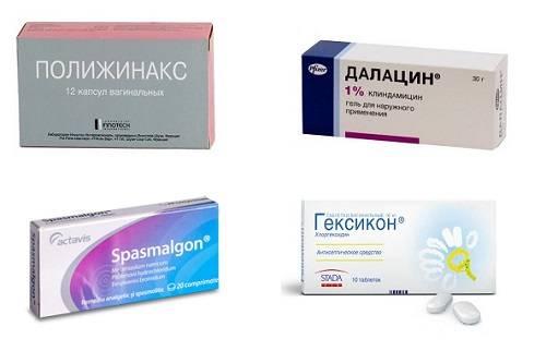 Медикаментозное лечение кисты яичника