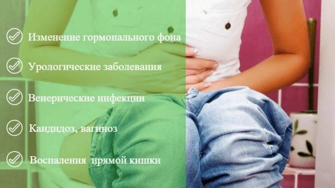 Причины частого мочеиспускания перед месячными