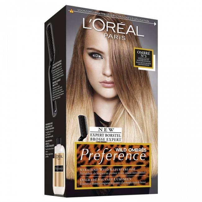 Окрашивание омбре: красим волосы с краской l'oreal preference wild ombres