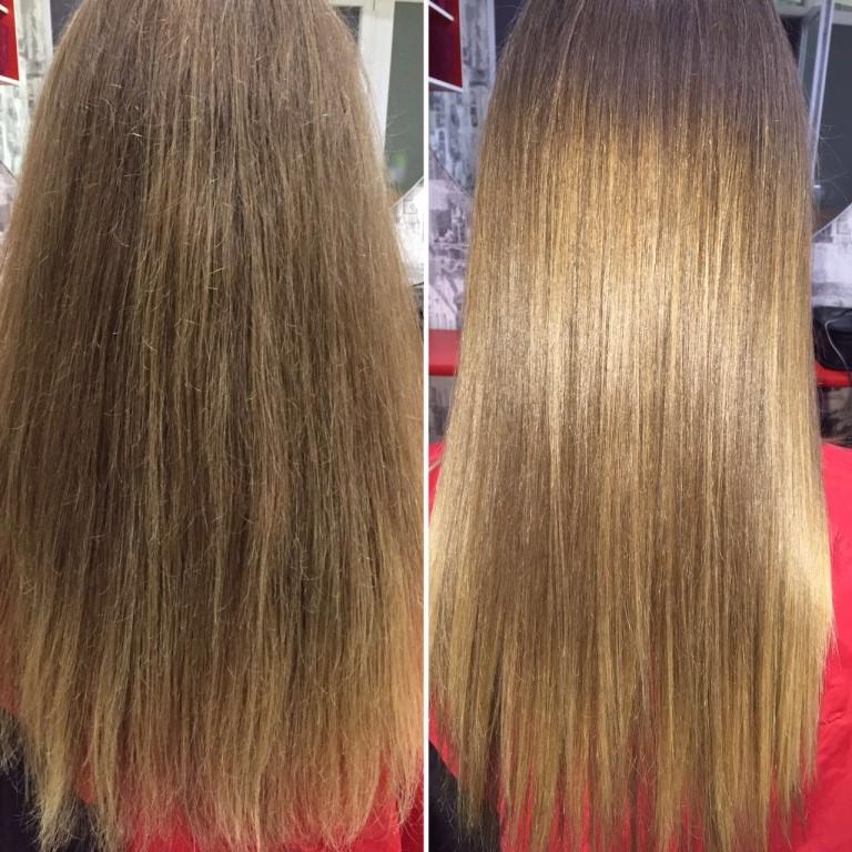 Как сделать полировку волос в домашних условиях?