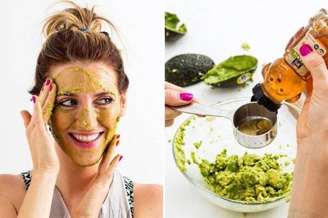 Избавление от морщин на лице с помощью маски из авокадо