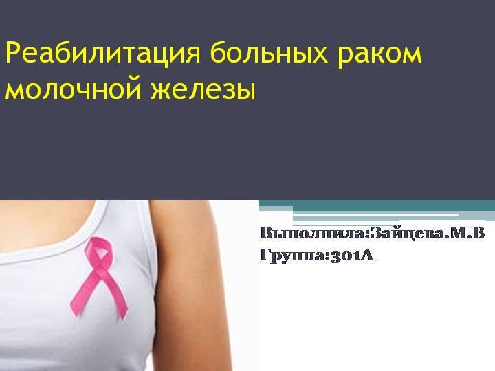 Сохранение груди