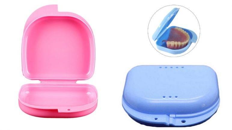 Как хранить зубные протезы съемные