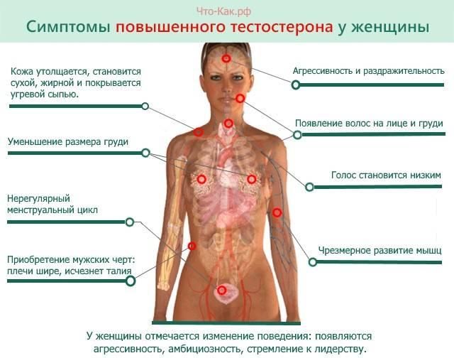 Пониженный тестостерон у женщин: причины, симптомы, коррекция
