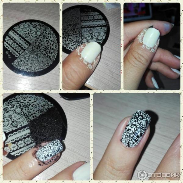 Стемпинг для ногтей: 35 фото идей + видео