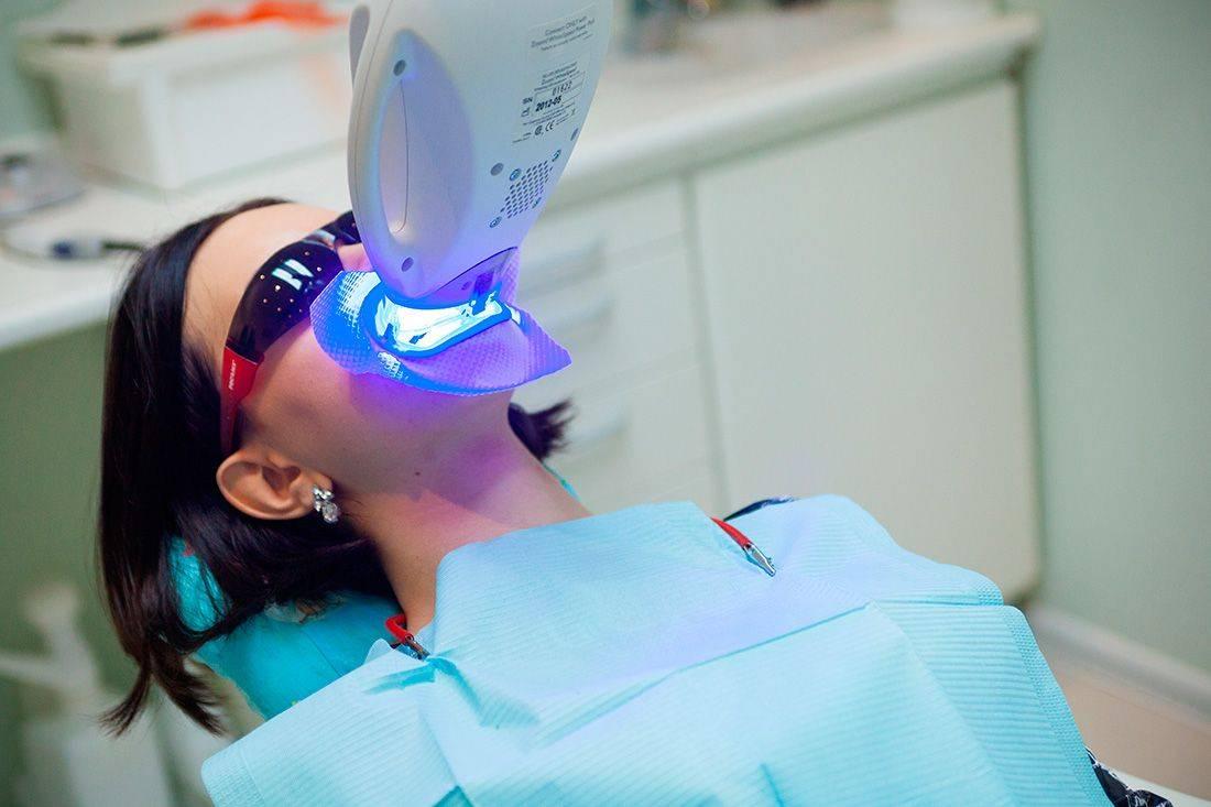 Отбеливание зубов системой philips zoom 4