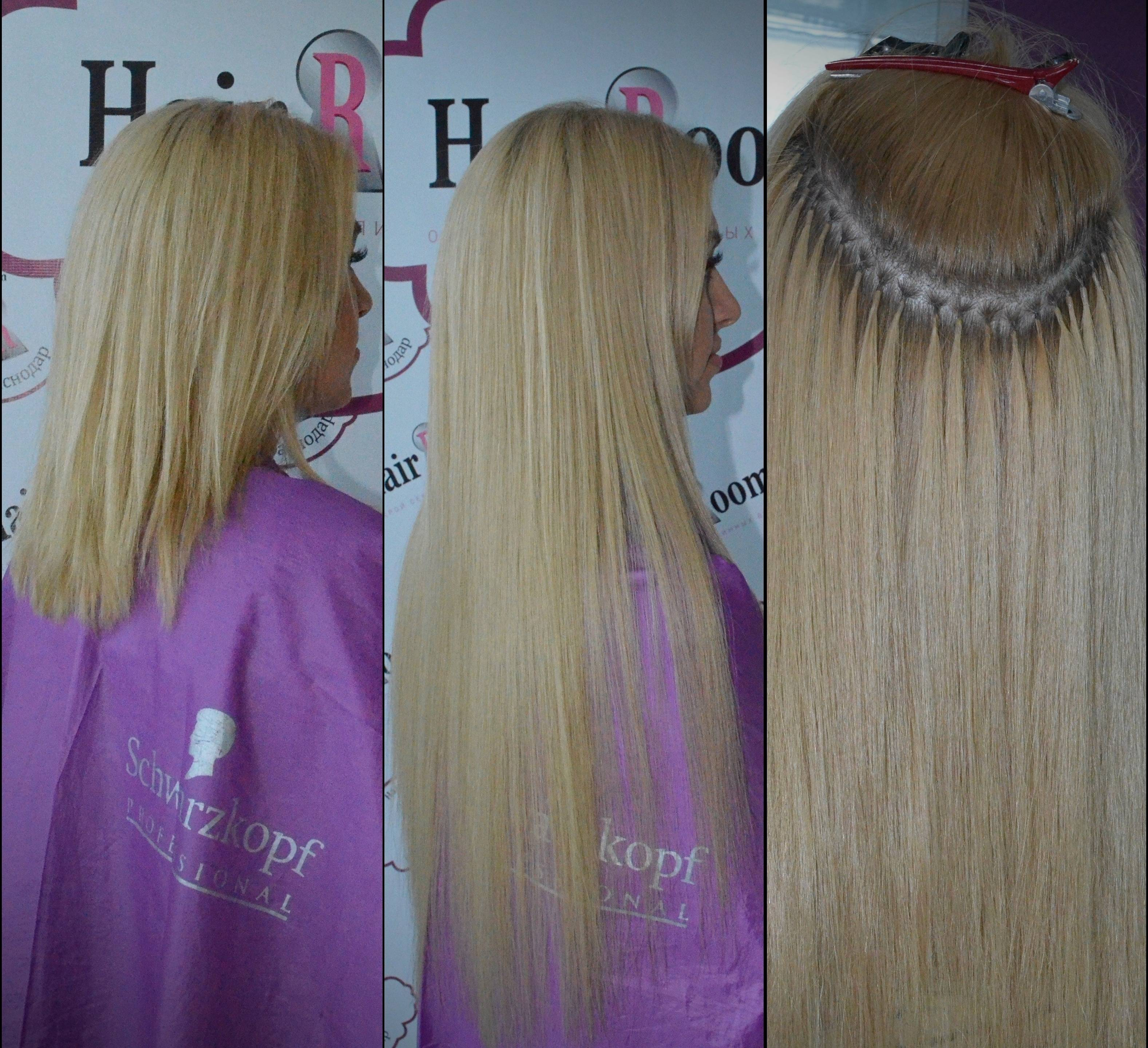 Японская технология наращивания волос на кольцах — ring star
