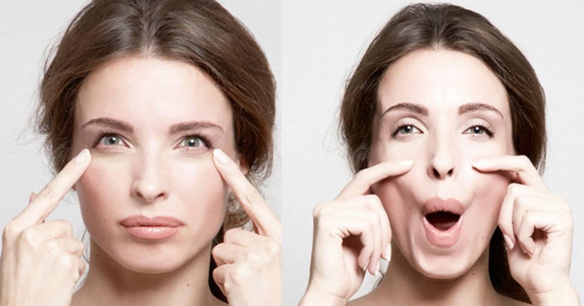 Упражнения для красивых щек и подтянутого овала лица