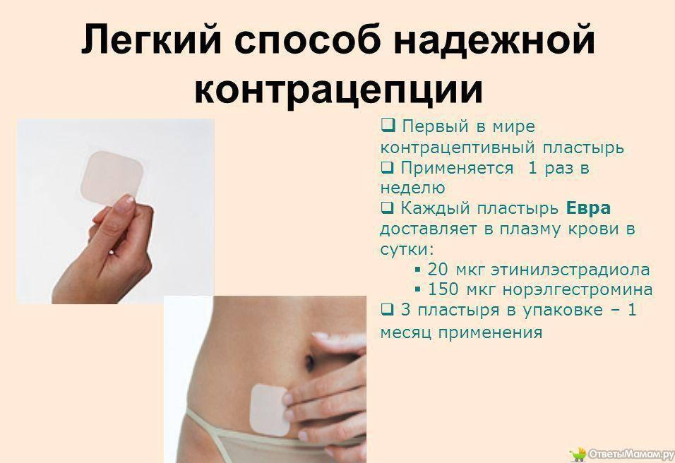 Противозачаточный пластырь: метод контрацепции