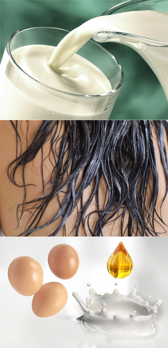 Домашние маски для ломких волос