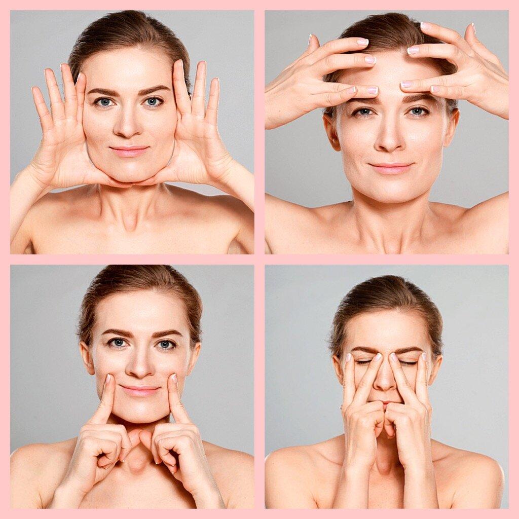йога лица в картинках обучение