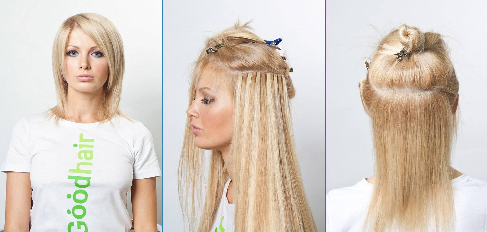 За что так ценится бескапсульное наращивание волос? особенности метода, его плюсы и минусы