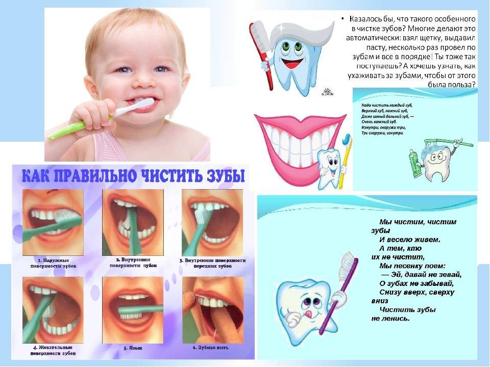 Что надо делать, чтобы зубы у малыша не портились и были здоровы?