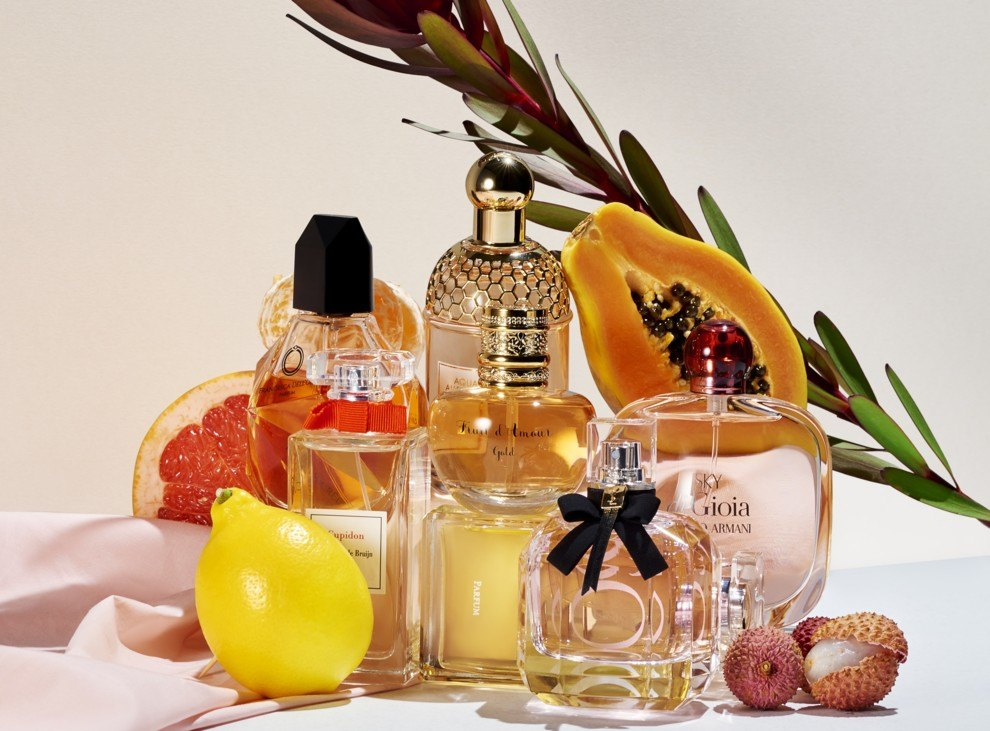 Яркие картинки парфюма