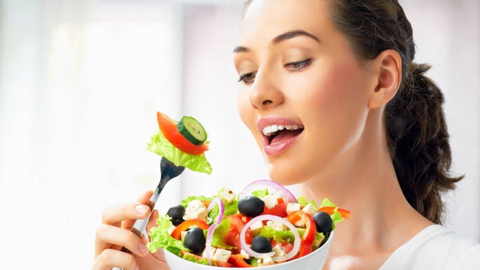 Правильное питание для кожи лица