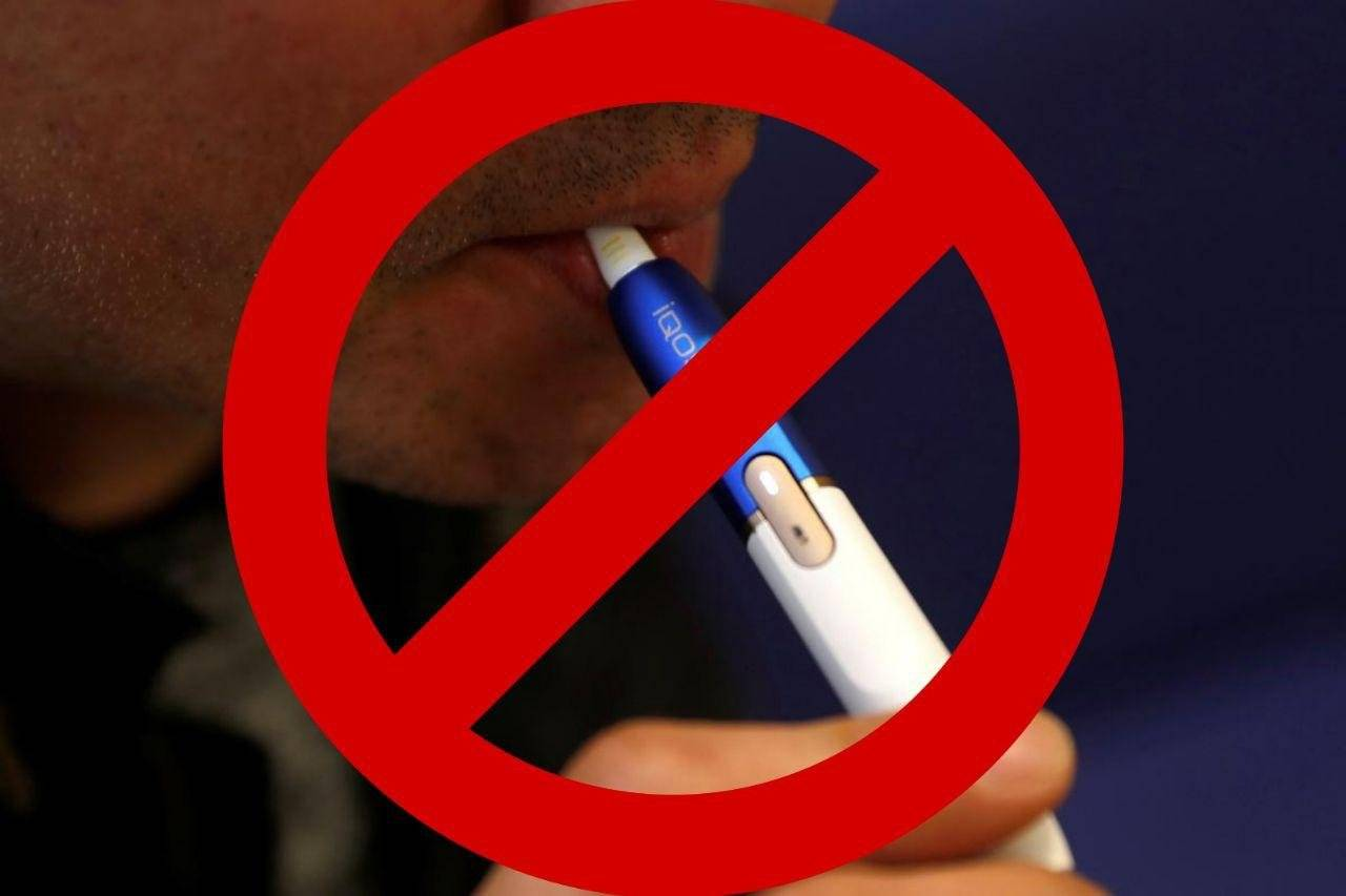 Снижается ли образование налета курильщика при курении электронной сигареты iqos?