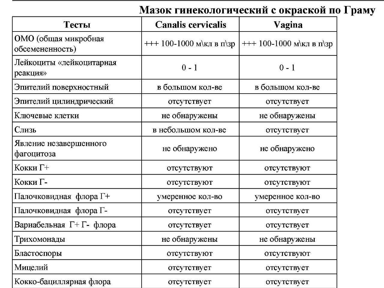 Мазок как метод диагностики: нормы для женщин и мужчин, подготовка к анализу, результаты