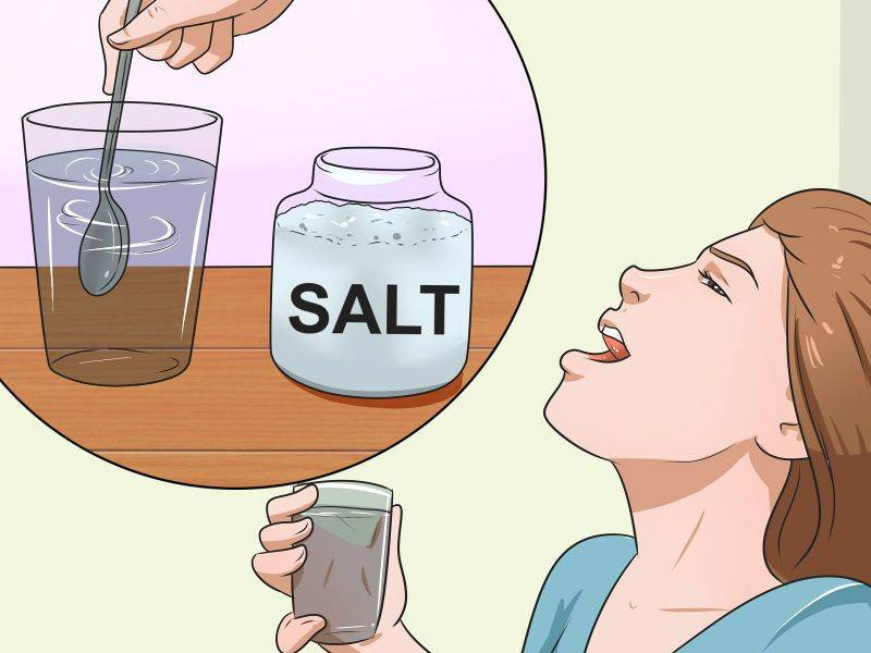 Можно полоскать горло солью с водой. полоскание морской солью при заболеваниях горла