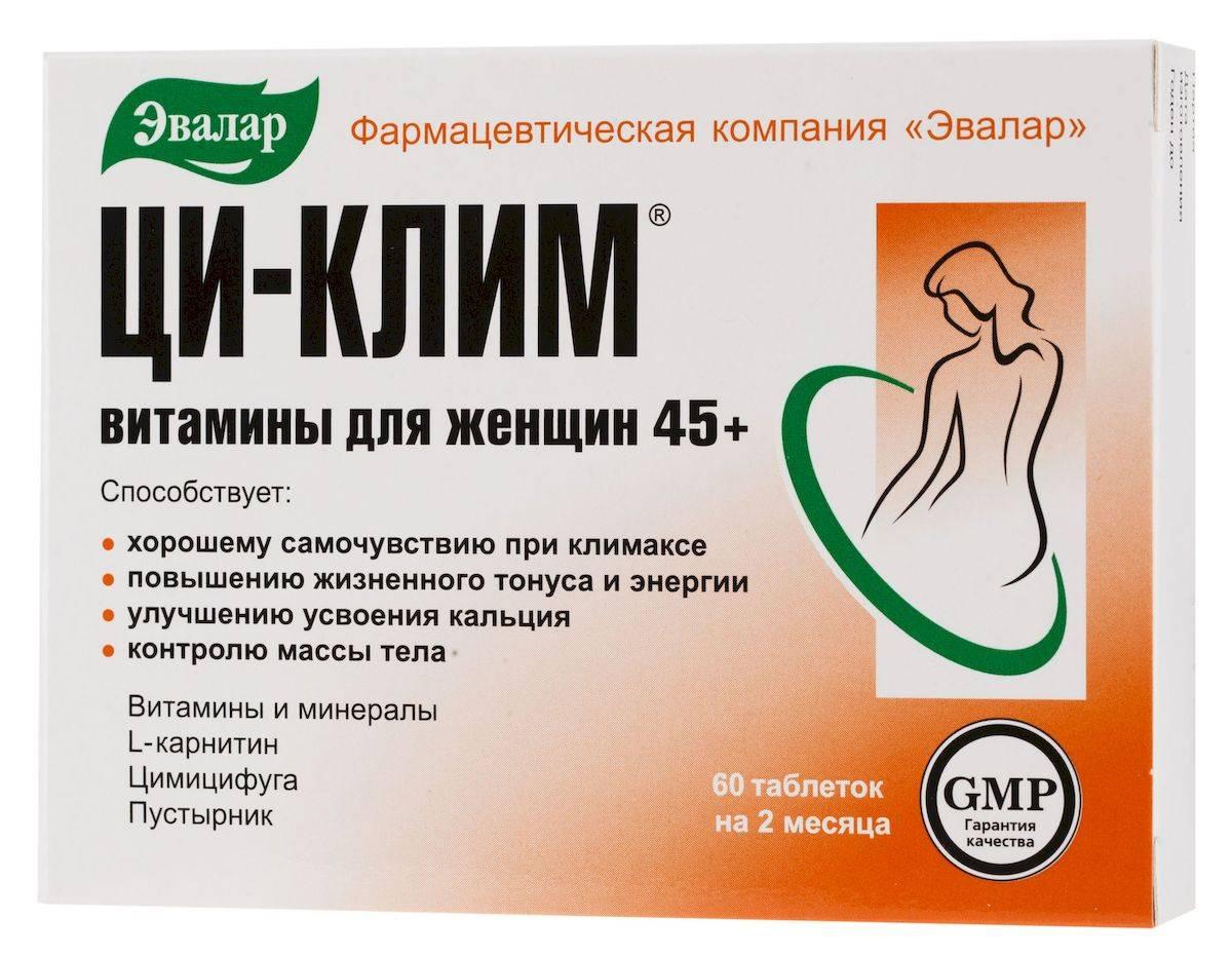 Рейтинг негормональных препаратов при климаксе