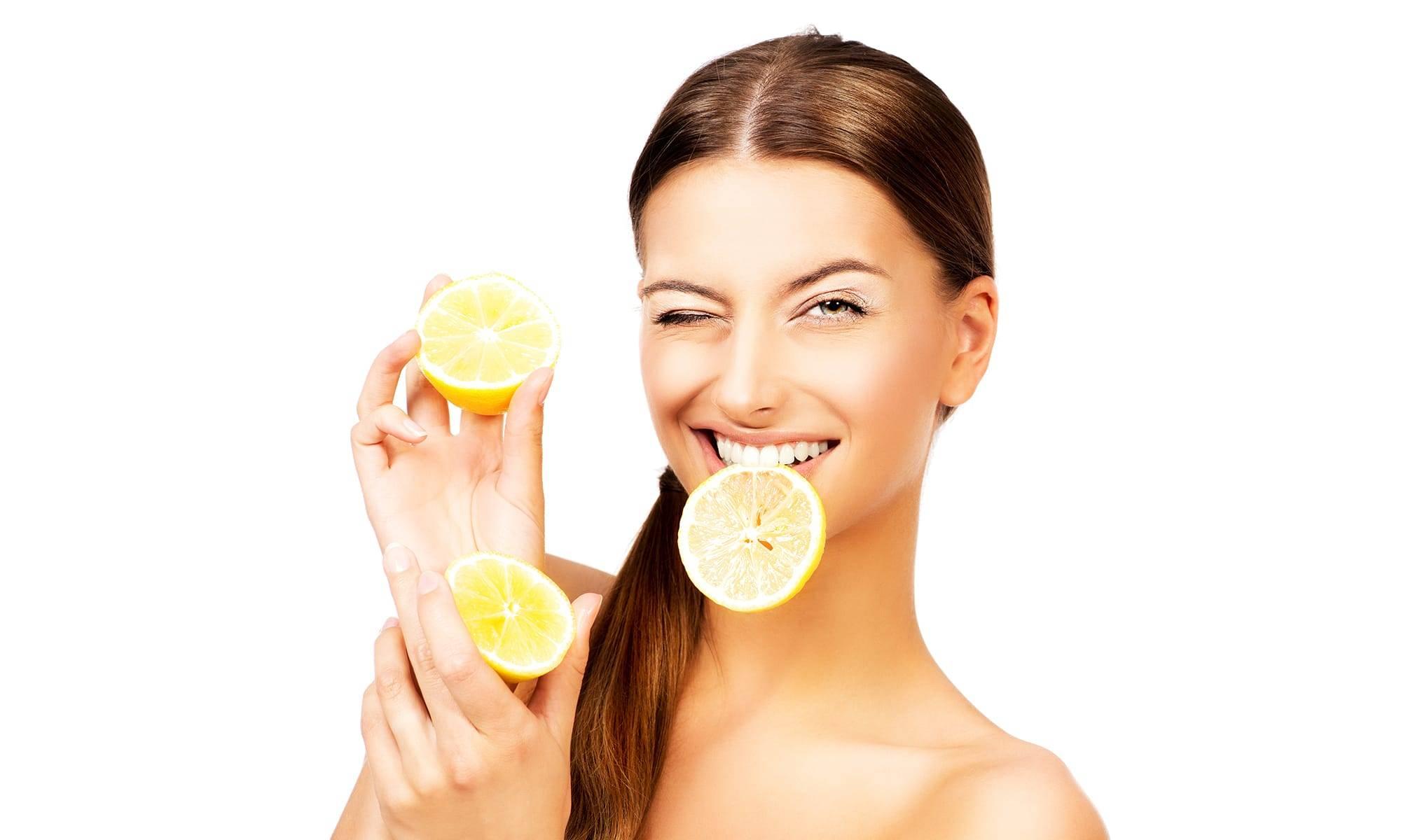 11 простых рецептов домашних средств для лица с лимонным соком