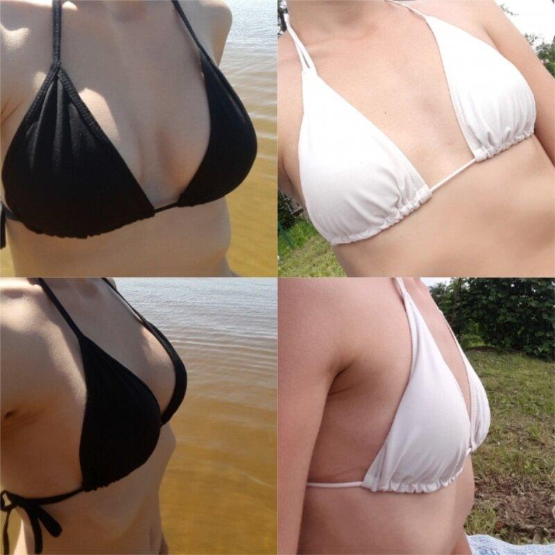 Увеличение груди без операции в домашних условиях