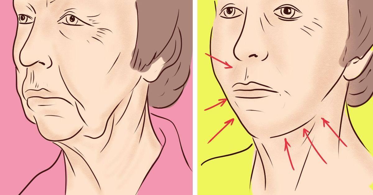 Омолаживающие упражнения для щек, лица и шеи в домашних условиях