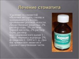 Мед в борьбе со стоматитом