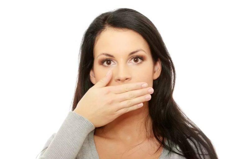 Горечь во рту – причины и лечение