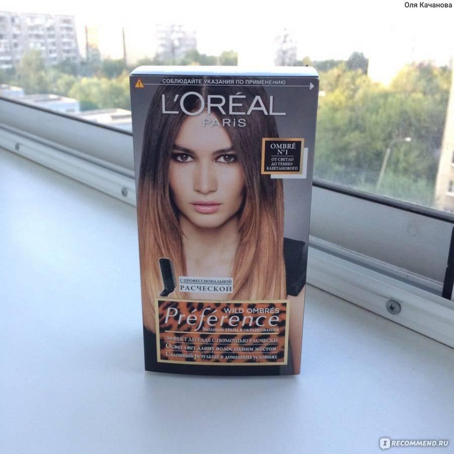 Краска для волос омбре от лореаль