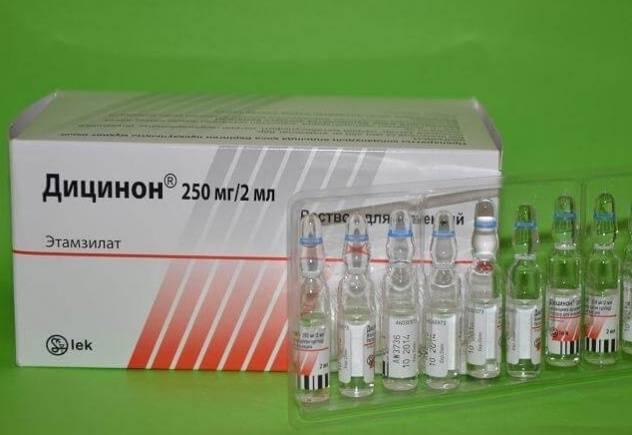 Кровоостанавливающие препараты в гинекологии