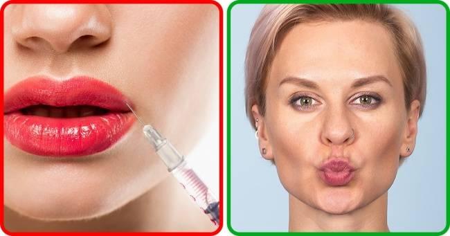 Упражнения для увеличения губ – можно ли накачать мышцы рта?