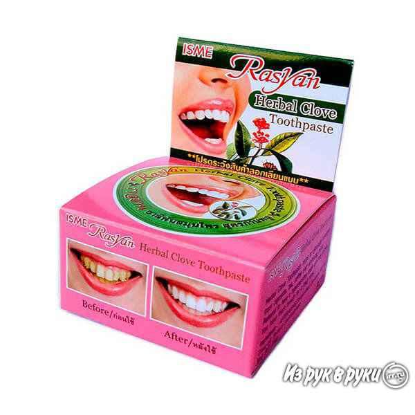 Зубная паста из тайланда (тайская): отбеливающая, травяная, черная, зубной порошок, как пользоваться