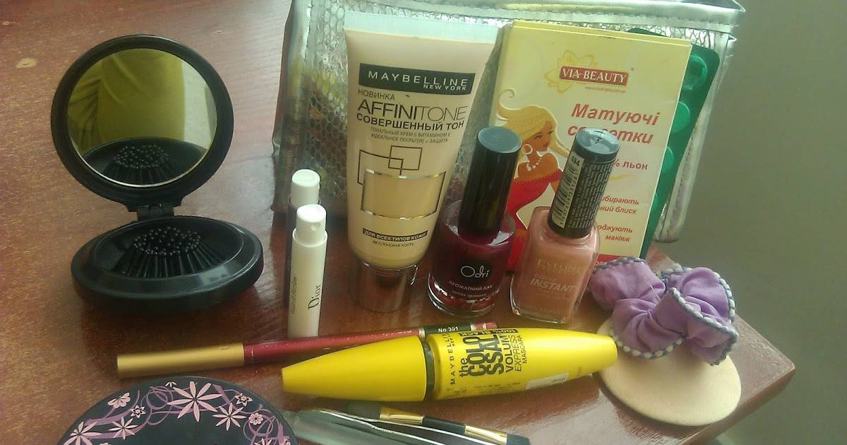 Всё, что нужно для макияжа: основнойсписок косметики и инструментов