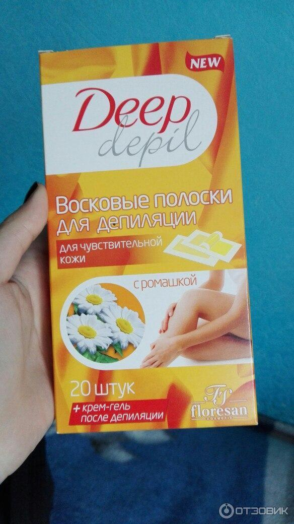 Фруктовый воск для депиляции deep depil