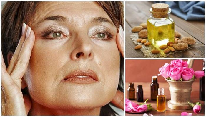 Как разгладить морщины вокруг глаз при помощи косметических масел? как использовать от морщин вокруг глаз касторовое, миндальное, кокосовое, оливковое, персиковое, кунжутное, облепиховое масло, авокадо, какао, нероли, ладана, розы, сандала?