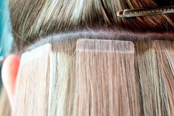 Как сделать ленточное наращивание волос с видео и фото