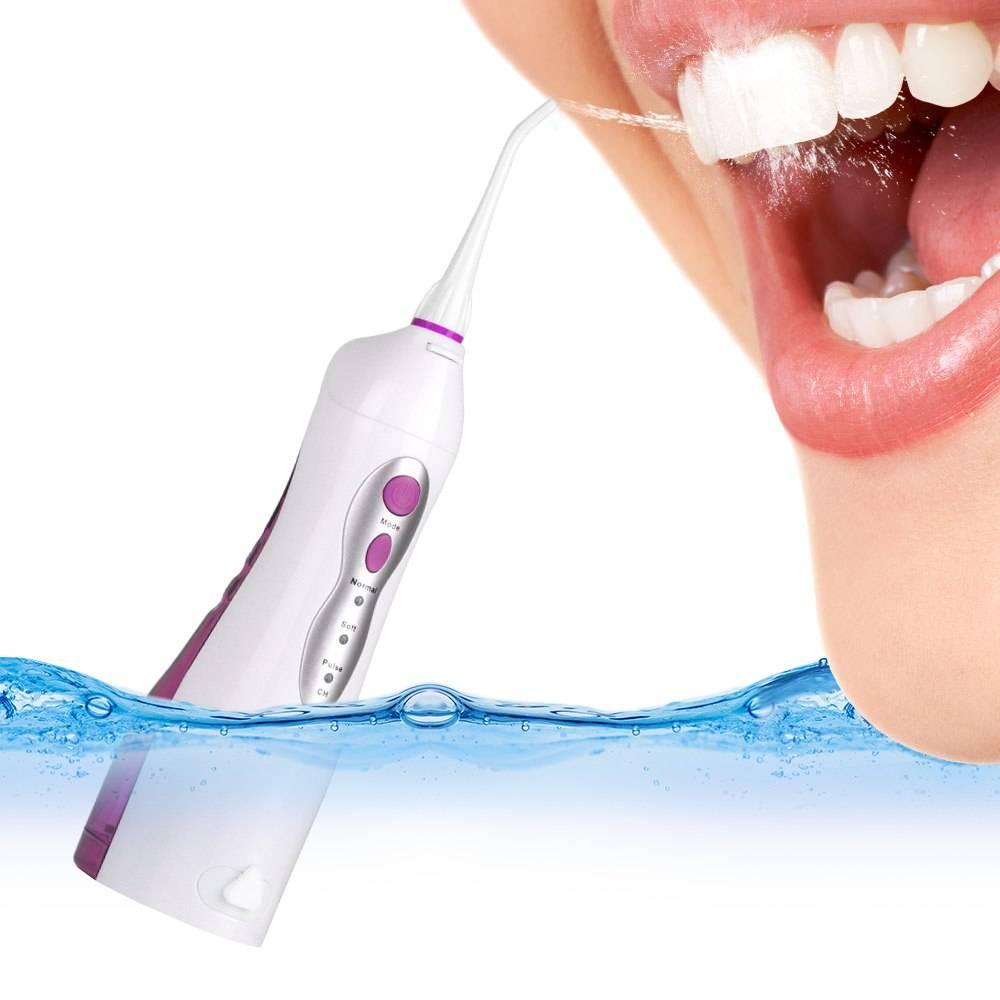 Как пользоваться ирригатором для чистки зубов