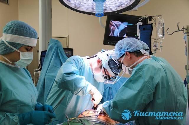 Операция по удалению кисты яичника: показания, методы и проведение, реабилитация и прогноз